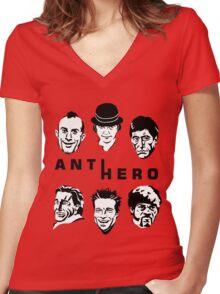 Anti-Hero Women's Fitted V-Neck T-Shirt