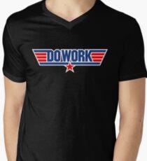 Do Work Wingman Mens V-Neck T-Shirt