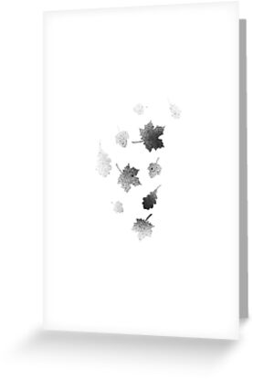 leaf lithograph by sloanepress