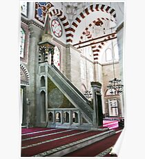 Mosque Lectern Poster