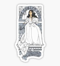 Theatre de la Labyrinth shirt v2 Sticker