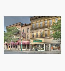 The Community Restaurant - Cortland, NY Photographic Print