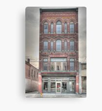The Beard Building - Cortland, NY Canvas Print