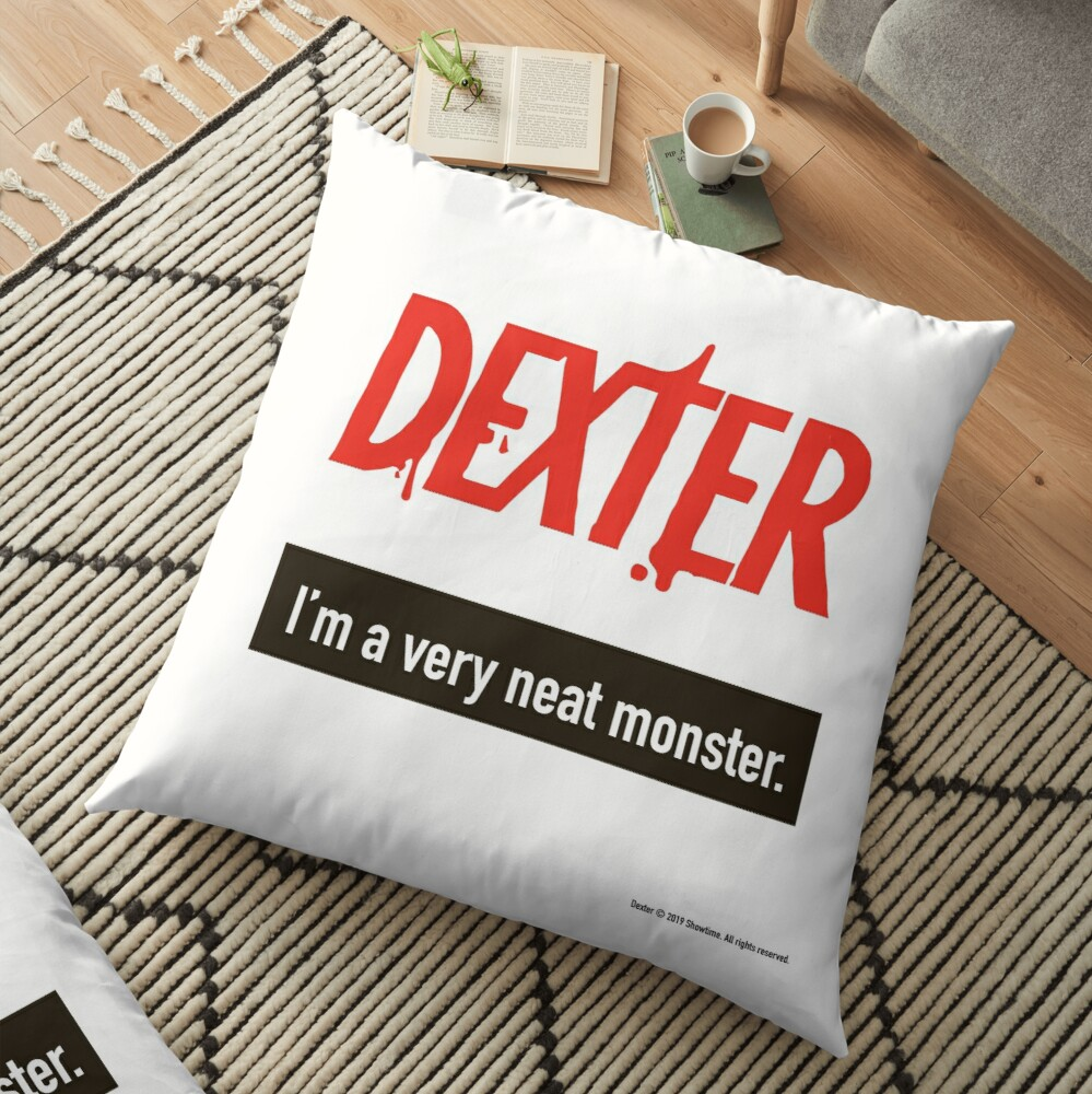 Dexter Morgan Fanart Floor Pillow