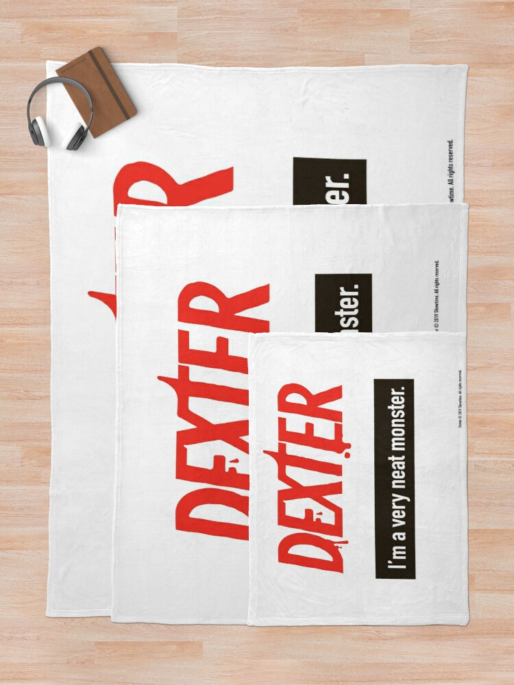Alternate view of Dexter Morgan Fanart Throw Blanket