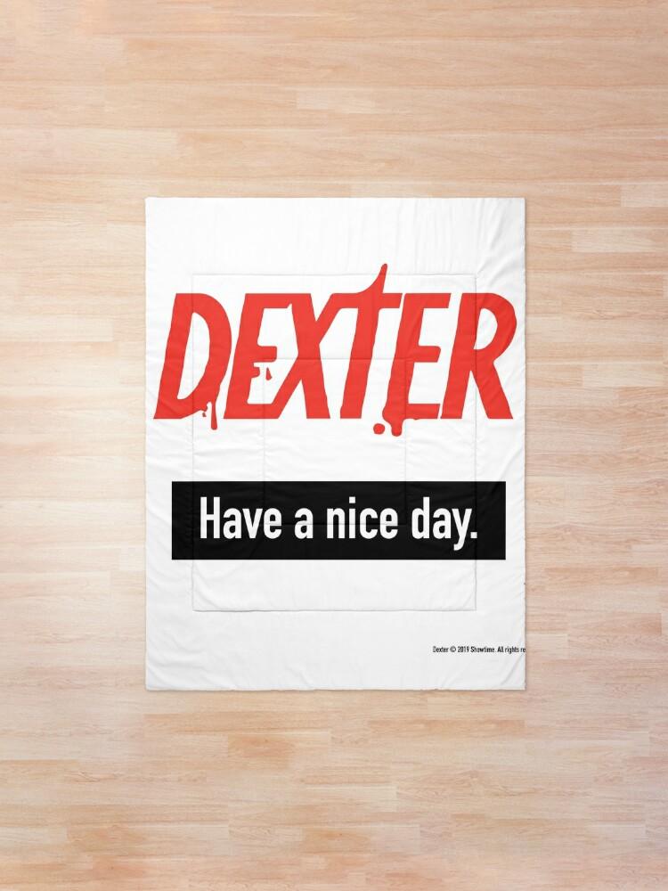 Alternate view of Dexter Fanart Comforter