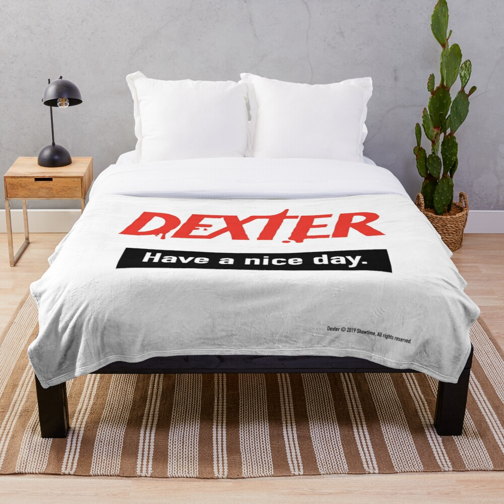 Dexter Fanart Throw Blanket