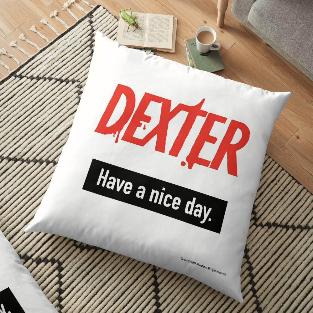 Dexter Fanart Floor Pillow