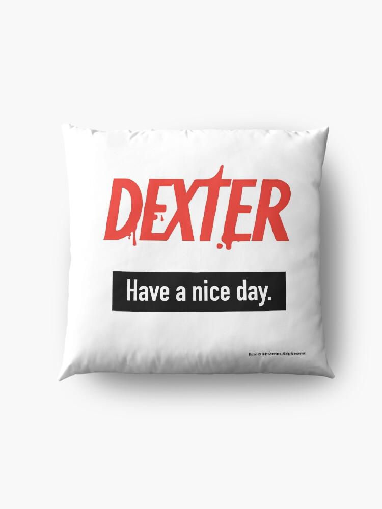 Alternate view of Dexter Fanart Floor Pillow