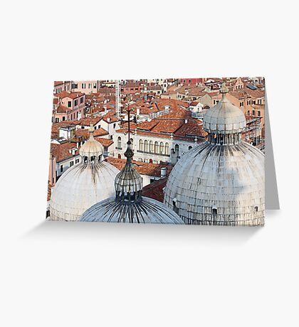The Rooftops of Venice Greeting Card