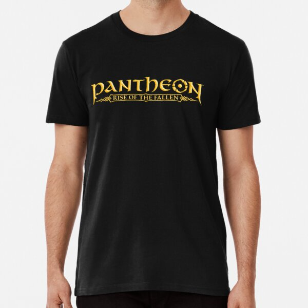 Pantheon Logo in Yellow Premium T-Shirt