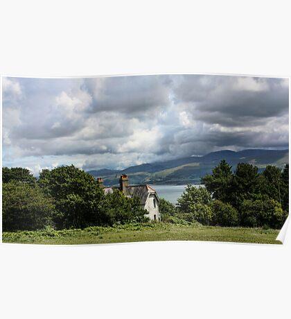 Cottage at Menai Poster
