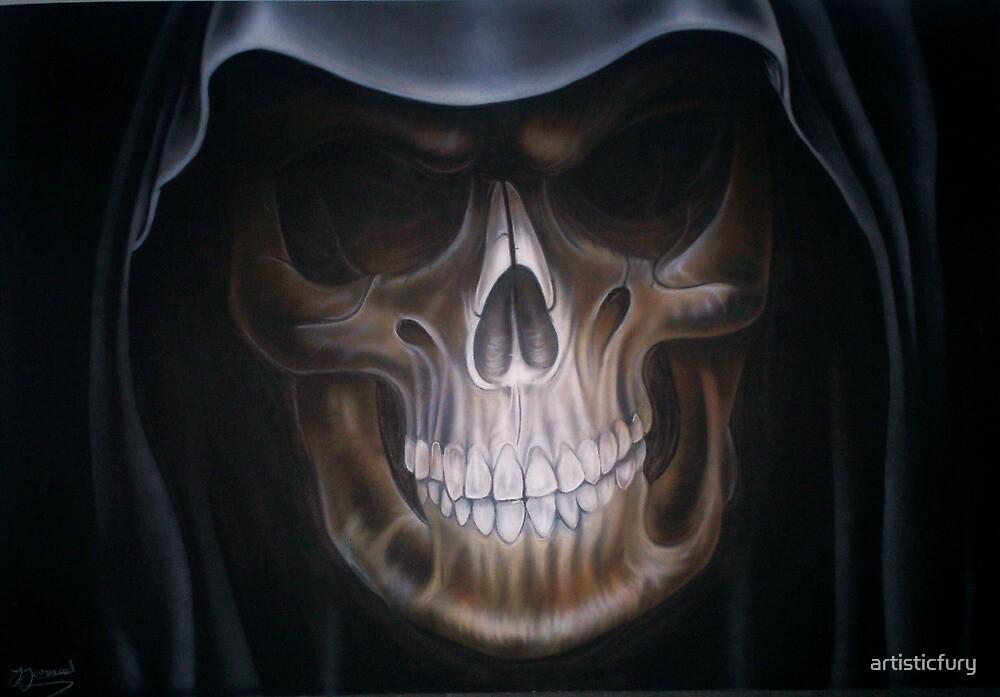 Quot Grim Reaper Quot By Artisticfury Redbubble