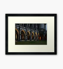 Arches Aglow Framed Print