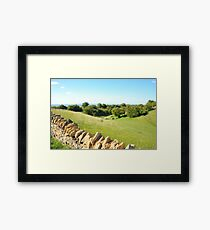 A Beautiful Summers Day Framed Print