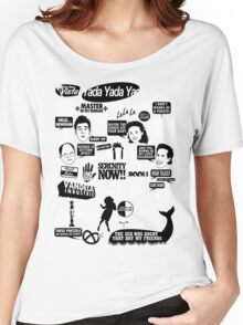 Seinfeld Quotes Women's Relaxed Fit T-Shirt
