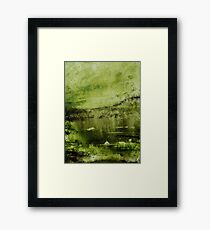 Forest Moss Framed Print