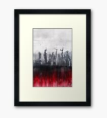 Paynes Trees Framed Print