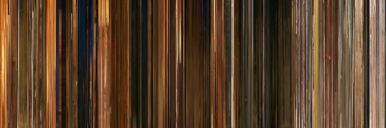 Moviebarcode: Fantastic Mr. Fox (2009) by moviebarcode