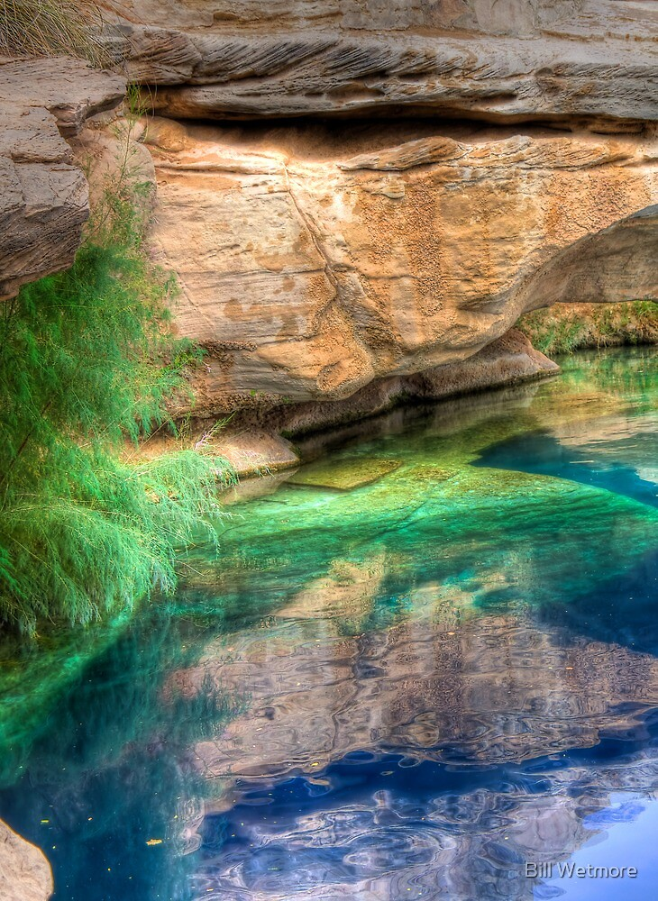 Blue Hole by Bill Wetmore