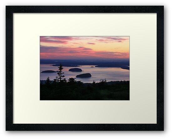Daybreak at Cadillac Mountain by Lori Deiter