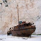 Shipwreck - Pirate Cove, Navagio by Honor Kyne