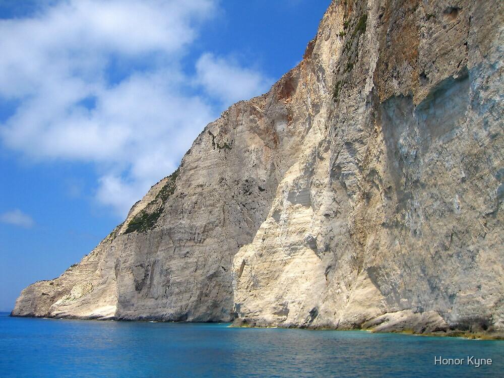 White Limestone Cliffs - Shipwreck Cove by Honor Kyne