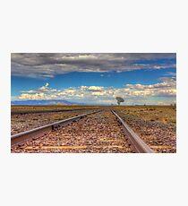 Rail to the Stars Photographic Print