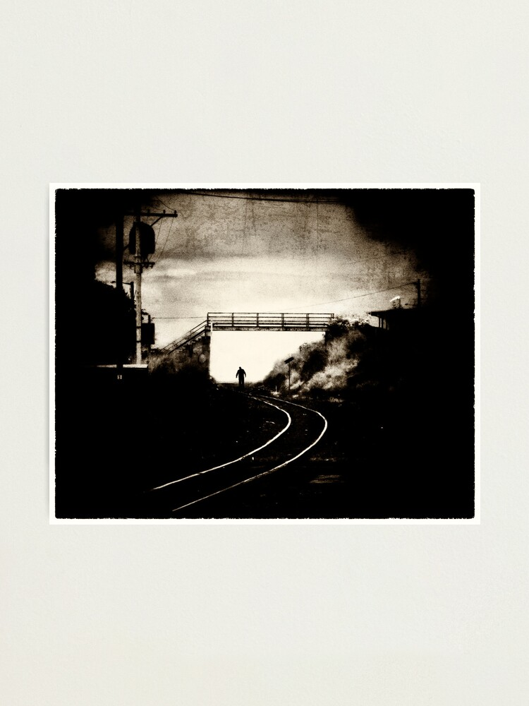 Alternate view of Walk The Line Again Photographic Print