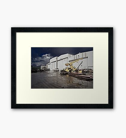 Factory Ground Framed Print