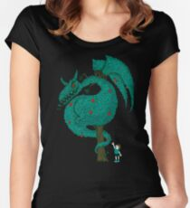 Nature's Beast Women's Fitted Scoop T-Shirt