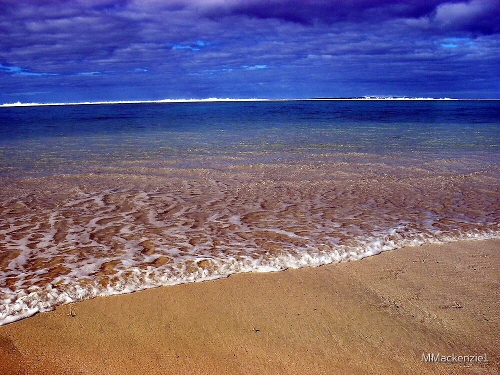 Sea side Rarotonga by MMackenzie1