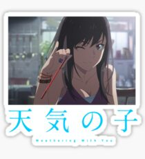 Natsumi - Weathering With You Sticker