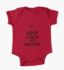 Keep Calm And AAUGH - Charlie Brown Kids Clothes