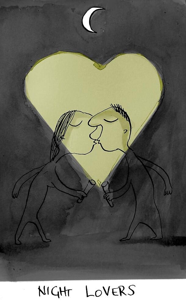 night lovers by Loui  Jover