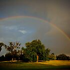 Nature's Coloured  Arc by geoff curtis