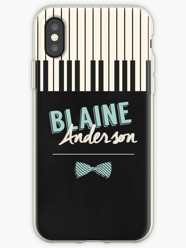 Blaine Anderson Piano by byebyesally