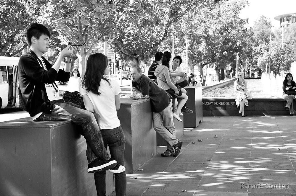 street stop by Karen E Camilleri