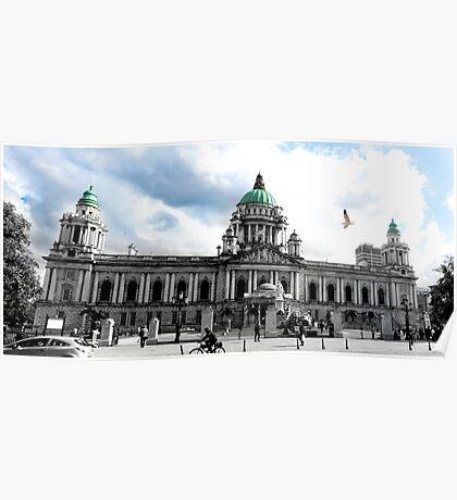 City Hall Belfast Poster