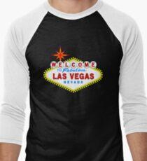 Welcome to Fabulous Las Vegas Men's Baseball ¾ T-Shirt