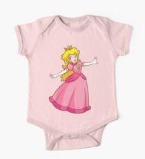 Prinzessin Peach! Baby Body Kurzarm