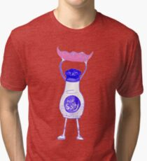 Real Salty Shaker and Edamame Bean Tri-blend T-Shirt