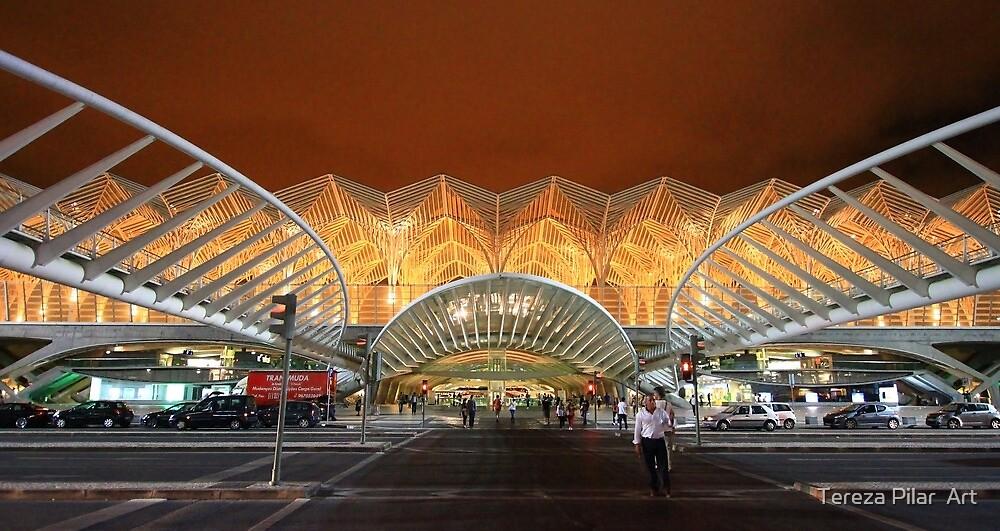 the span. Gare do Oriente. Lisbon by terezadelpilar ~ art & architecture