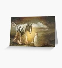 By Lantern Light Greeting Card