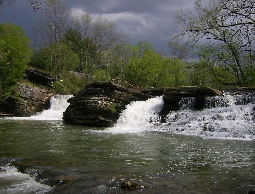 The Falls at... by Paul Lubaczewski