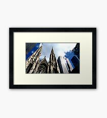 St Patricks Cathedral - New York City Framed Print