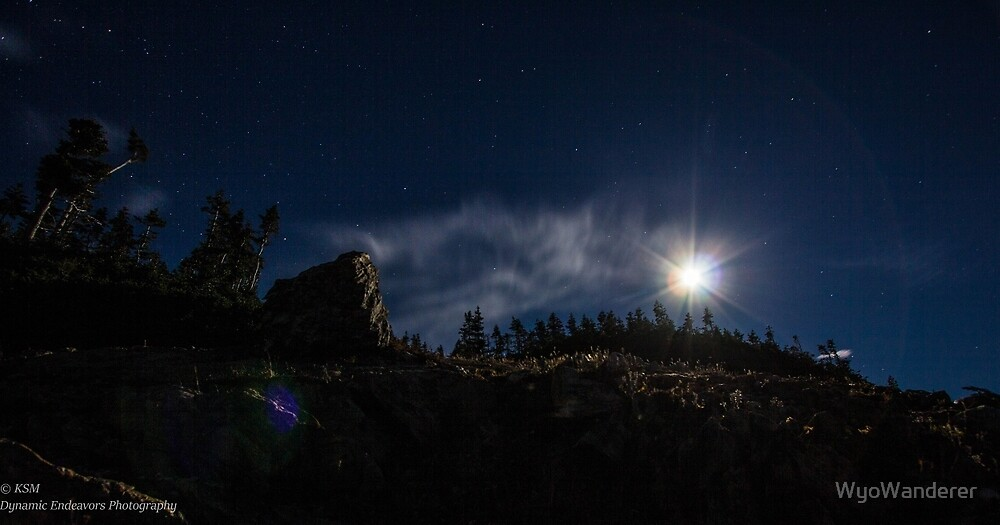 Full Moon by WyoWanderer