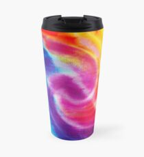 Rainbow Tie Dye 1 Travel Mug