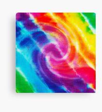 Rainbow Tie Dye 1 Canvas Print