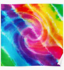 Rainbow Tie Dye 1 Poster
